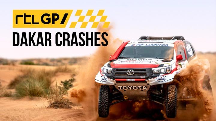 RTL GP: Dakar Crashes