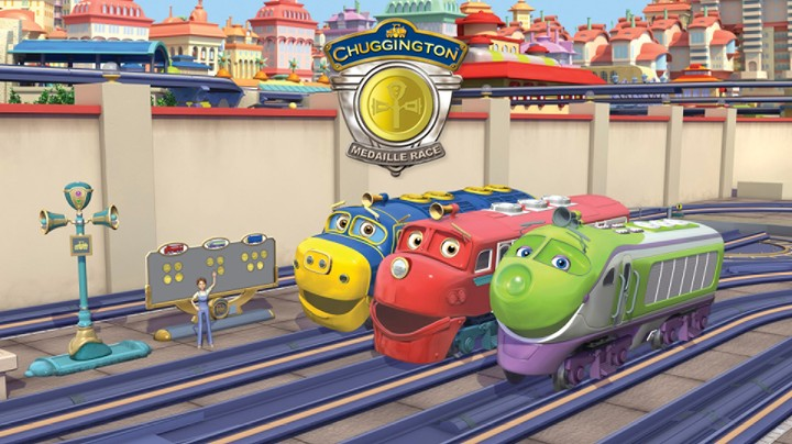 Chuggington Medaille Race